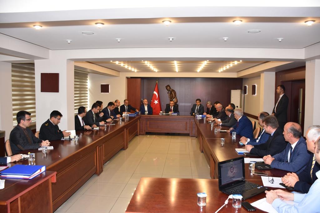 Seçim Güvenliği Toplantısı yapıldı.