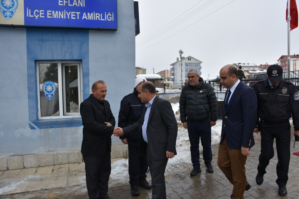 Vali Aktaş Eflani Ziyareti